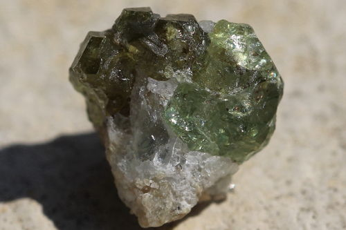 Demantoid Kristall 02