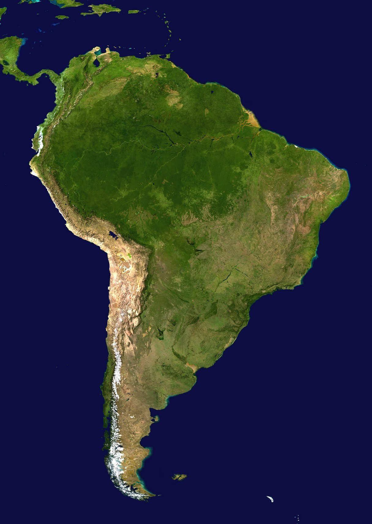 South_America_satellite_orthographic